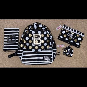 BNWT Justice Backpack Set